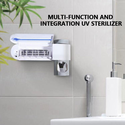 UV Antibacterial Automatic Toothbrush Sterilizer