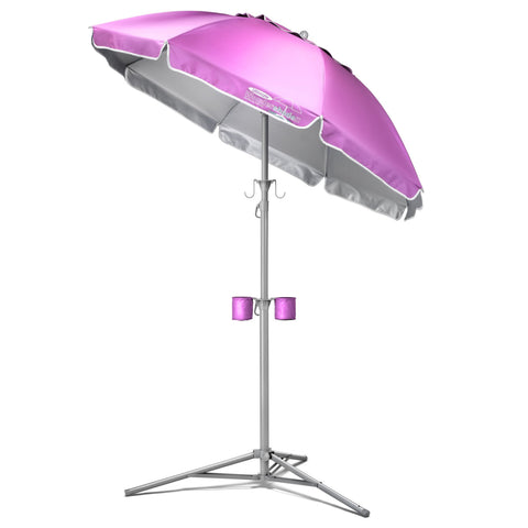 Wondershade Ultimate Portable Sun Shade Umbrella, Lightweight Adjustable Instant Sun Protection - Pink