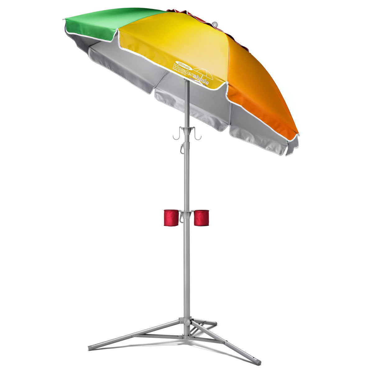 Wondershade Ultimate Portable Sun Shade Umbrella, Lightweight Adjustable Instant Sun Protection - Rainbow
