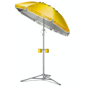 Wondershade Ultimate Portable Sun Shade Umbrella, Lightweight Adjustable Instant Sun Protection - Yellow