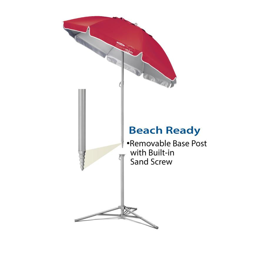 Wondershade Ultimate Portable Sun Shade Umbrella, Lightweight Adjustable Instant Sun Protection - Blue