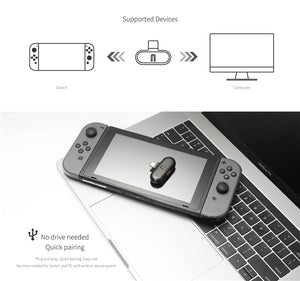 Gulikit ROUTE+ Pro USB Type-C Bluetooth オーディオトランスミッター Nintendo Switch 対応