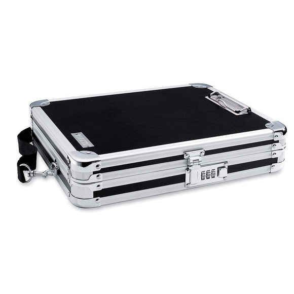 Case101203C Chrome Steel Hinged Clipboard Case - Tech Instrumentation