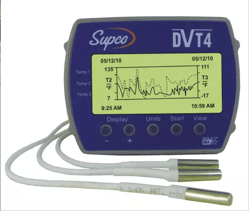 DVT4 Temperature Data Logger - Tech Instrumentation