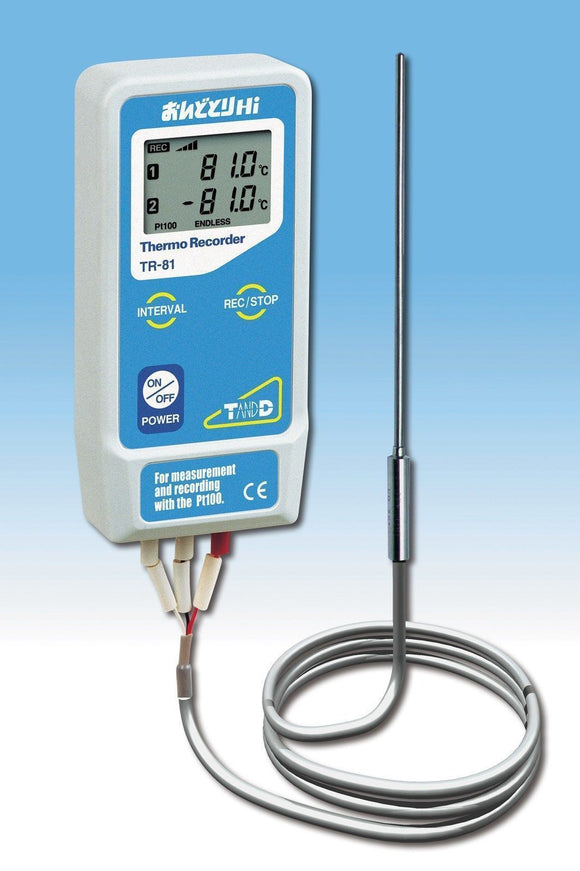 TR-81 Wide Range Temperature Data Logger - Tech Instrumentation