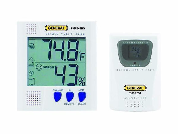 EMR963HG Cable Free Thermo-Hygrometer - Tech Instrumentation