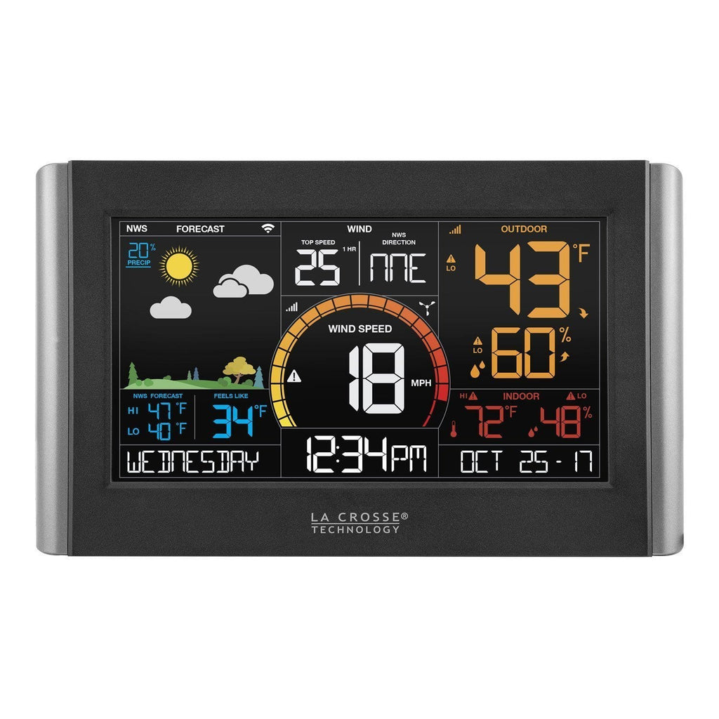 La Crosse V21-WTH Wireless Weather Station with Wind Speed - Tech Instrumentation - La Crosse Technology
