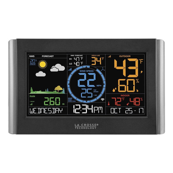 La Crosse V22-WRTH Wireless W-Fi Weather Station with Rainfall and Wind Speed | La Crosse Technology | SKU V22-WRTH | Weather Stations
