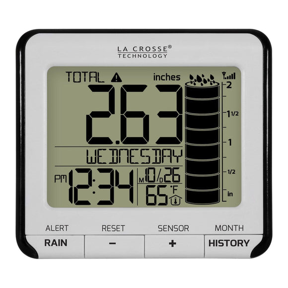 LaCrosse 724-2310-INT Wireless Rain Station | La Crosse Technology | SKU 724-2310-INT | Weather Stations