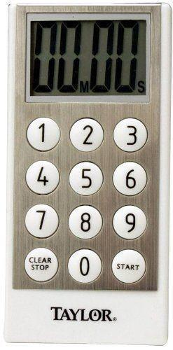 T-5820 Taylor Classic 10-Key Style Digital Timer - Discontinued See T-5850 - Tech Instrumentation