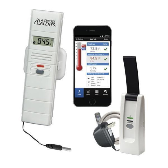 ViewTemp 25106 Temperature Alert System - Tech Instrumentation - LaCrosse