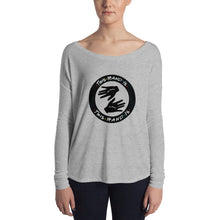 Load image into Gallery viewer, This Hand is Your Hand with Ring Ladies' Long Sleeve Tee