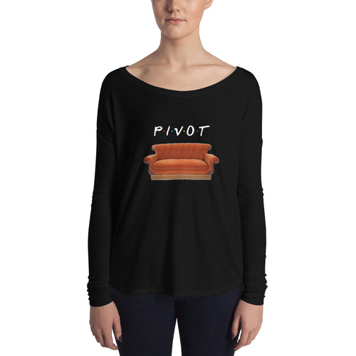 Pivot Couch Ladies' Long Sleeve Tee