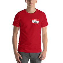 Load image into Gallery viewer, Crap Bag Name Tag Side Short-Sleeve Men's T-Shirt