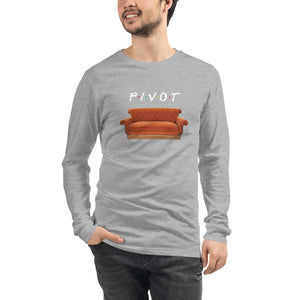 Pivot Couch Unisex Long Sleeve Tee