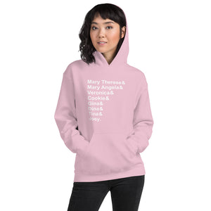 Joey and His Sisters Unisex Hoodie