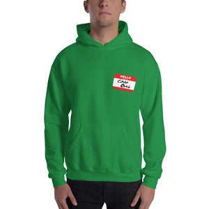Crap Bag Name Tag Side Unisex Hoodie