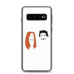 Ross and Rachel in Las Vegas Minimalist Faces Samsung Case