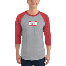 Load image into Gallery viewer, Crap Bag Name Tag 3/4 sleeve raglan shirt