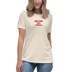 Crap Bag Name Tag Women's Relaxed T-Shirt