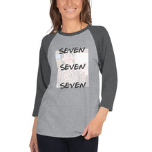 Load image into Gallery viewer, Monica Seven Seven Seven 3/4 sleeve raglan shirt