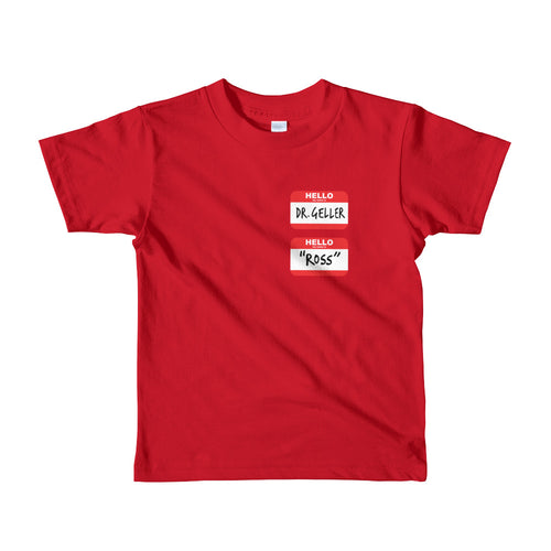 Ross's Name Tags Youth Short sleeve kids t-shirt