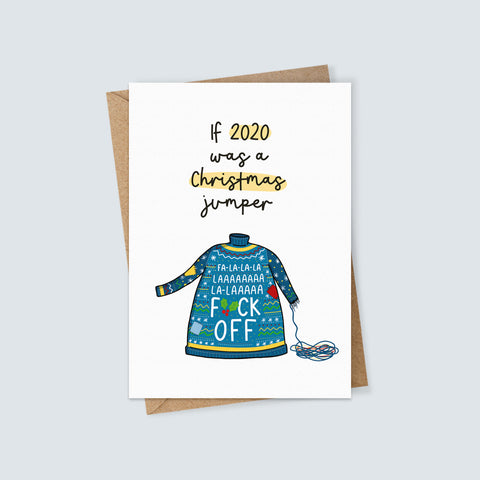 2020 Christmas Jumper Card