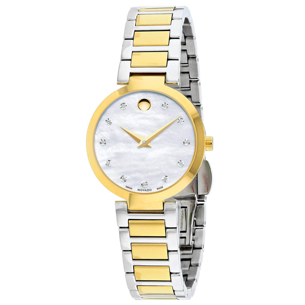 Movado Women's Modern Mother of Pearl Watch - 607103