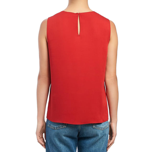 Womens Silk Sleeveless Shell