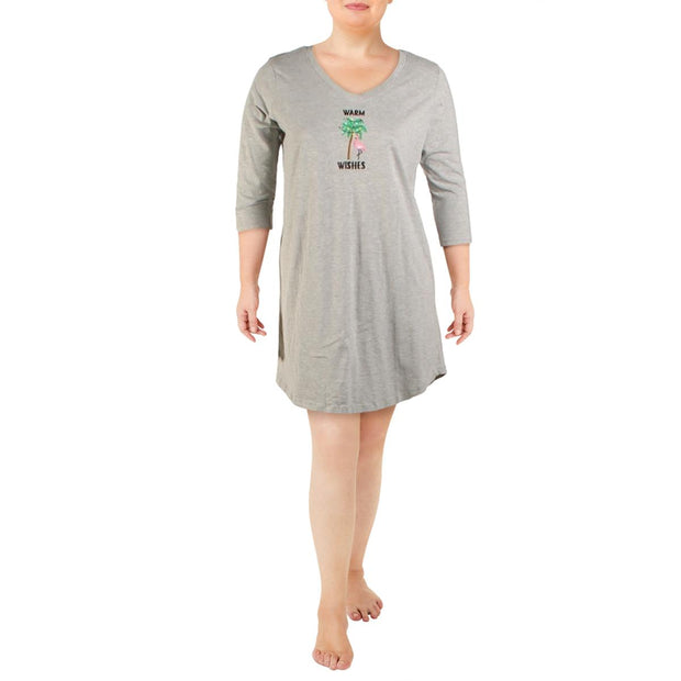 Pillow Talk Womens Cotton Comfy Sleep Shirt