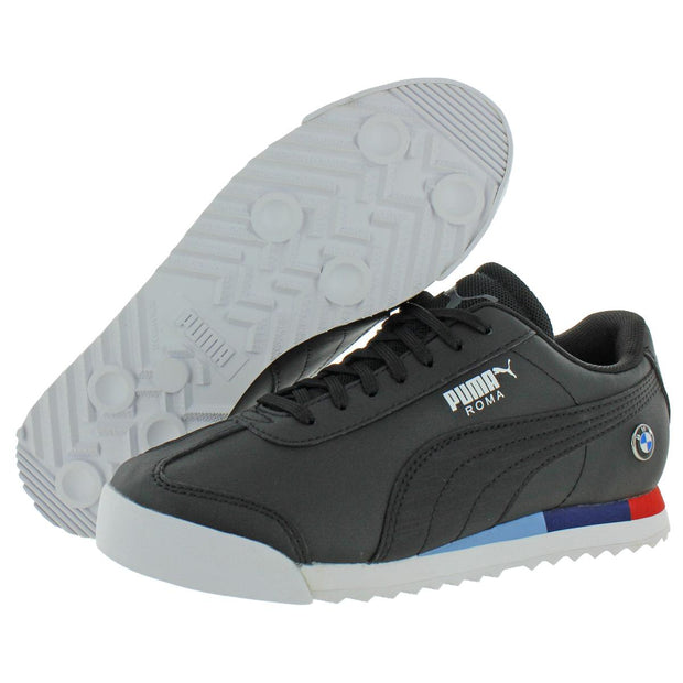BMW MMS Roma Jr Boys Faux Leather Lace Up Sneakers