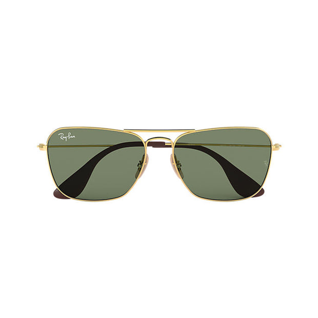 Ray-Ban Unisex Square RB3610 Metal Sunglasses Gold
