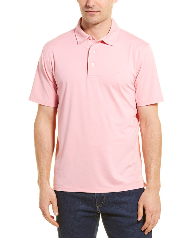 Southern Tide Heathered Driver Performance Polo