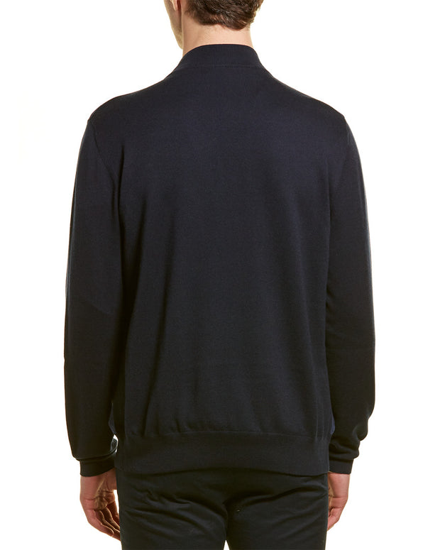 Loro Piana Cashmere & Suede Bomber Jacket