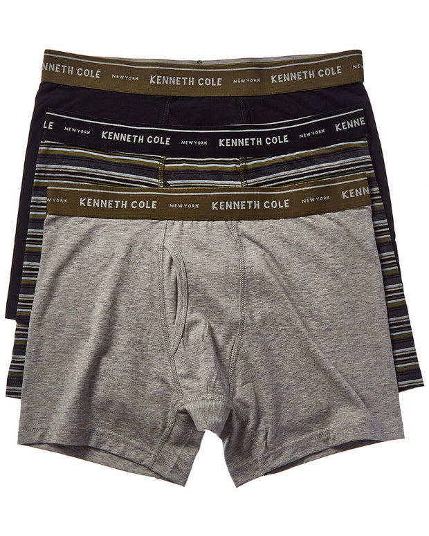 Kenneth Cole New York Pack Of 3 Boxer Brief