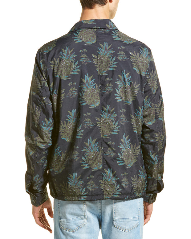 Vince Tropical Print Coaches Jacket