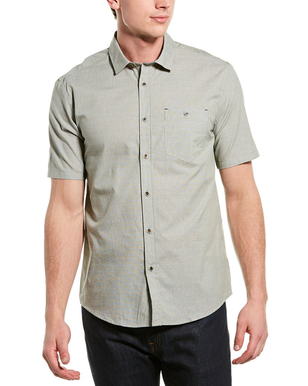 Ike By Ike Behar Dobby Woven Shirt