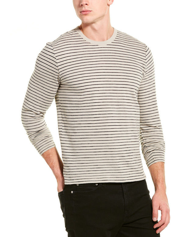 Rag & Bone Railroad Stripe T-Shirt
