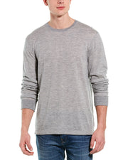 James Perse Micro Striped Cashmere T-Shirt