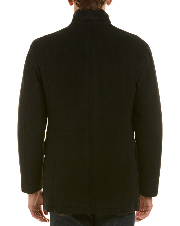 Cole Haan Wool & Cashmere-Blend Coat