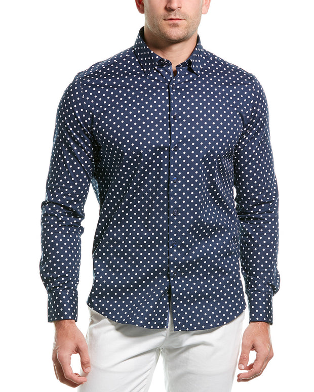 Stone Rose Button-Down Shirt