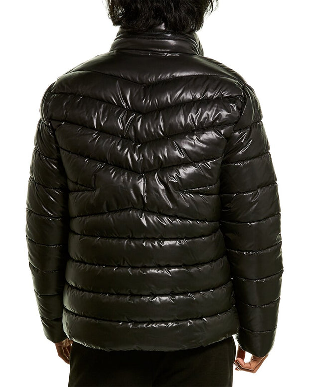 Kenneth Cole New York Mixed Quilted Puffer Jacket