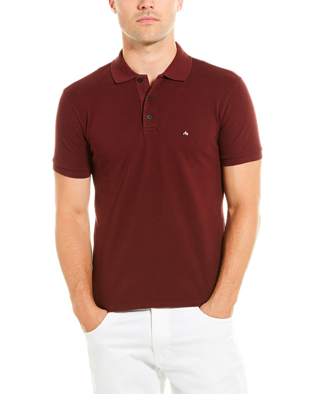 Rag & Bone Hyper-Laundered Pique Polo Shirt