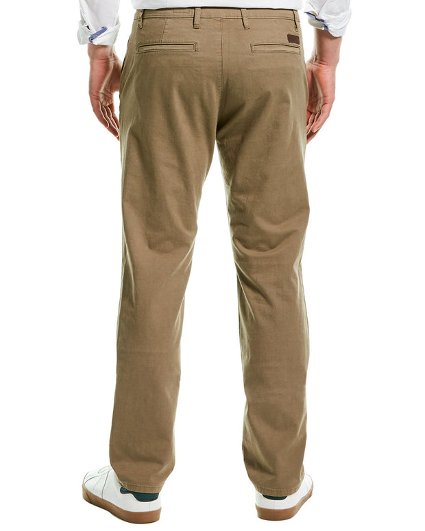 Ag Jeans The Lux Khaki Sulfur Black Tailored Leg