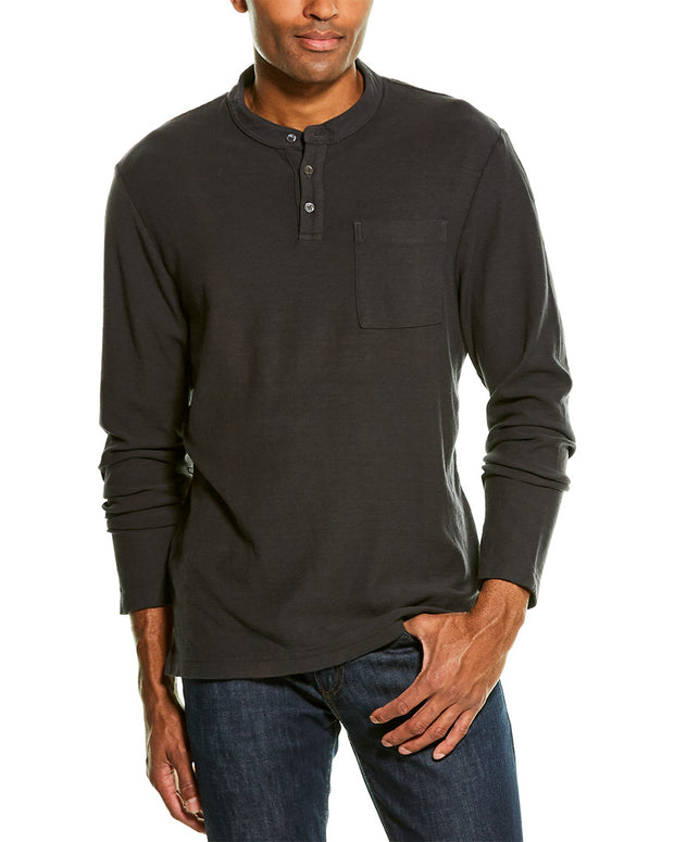 James Perse Reverse Jersey Henley
