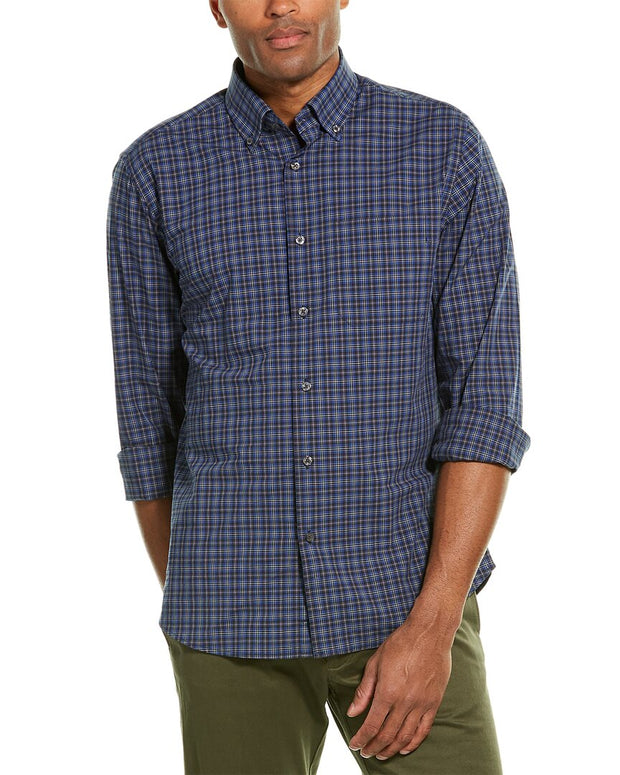 Scott Barber Button-Down Woven Shirt