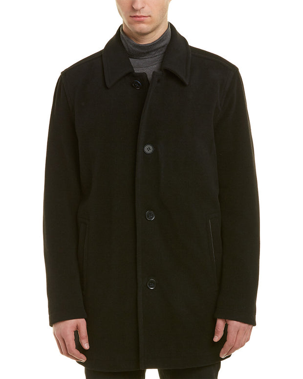Cole Haan Signature Wool-Blend Coat