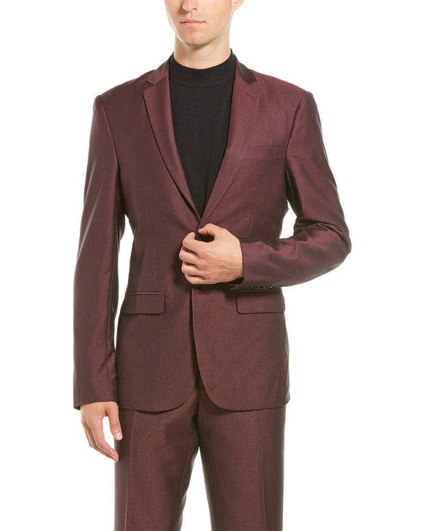 Aspetto 2Pc Suit With Flat Pant