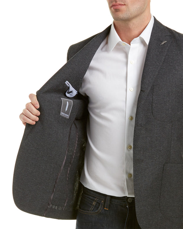 Michael Bastion Gray Label Slim Fit Wool Sportcoat