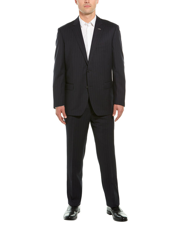 Michael Bastian 2Pc Wool Suit With Pleated Pant